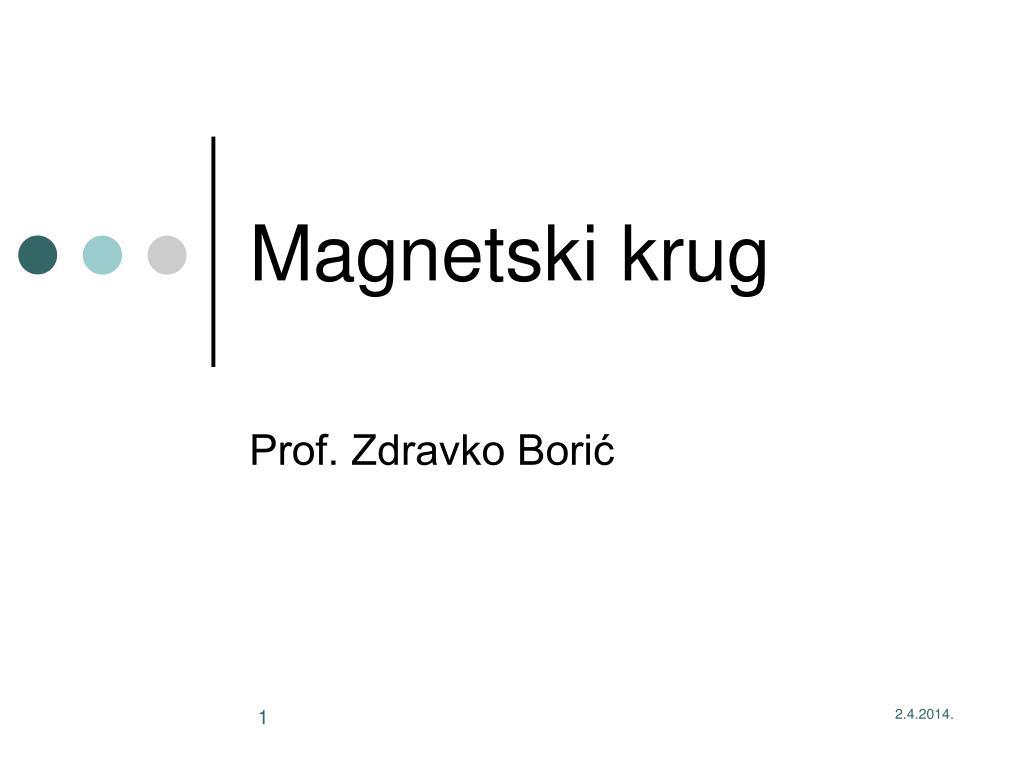 magnetski krug l.