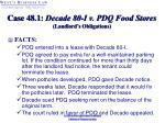 case 48 1 decade 80 i v pdq food stores landlord s obligations