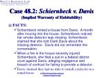 case 48 2 schiernbeck v davis implied warranty of habitability