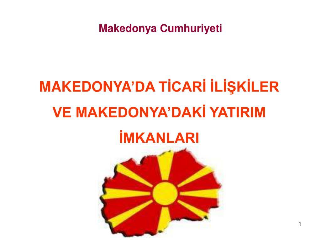 makedonya cumhuriyeti l.