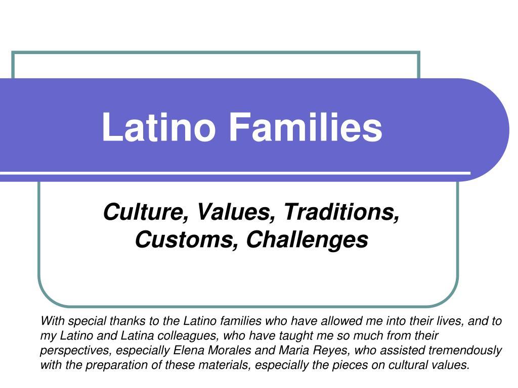 latino families l.