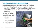 laptop preventive maintenance