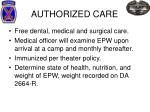 authorized care