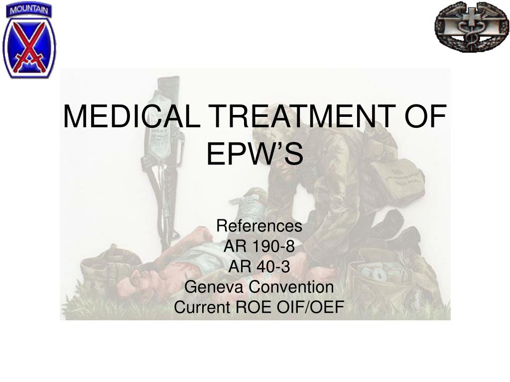medical treatment of epw s l.