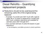 diesel retrofits quantifying replacement projects27