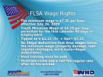 flsa wage rights