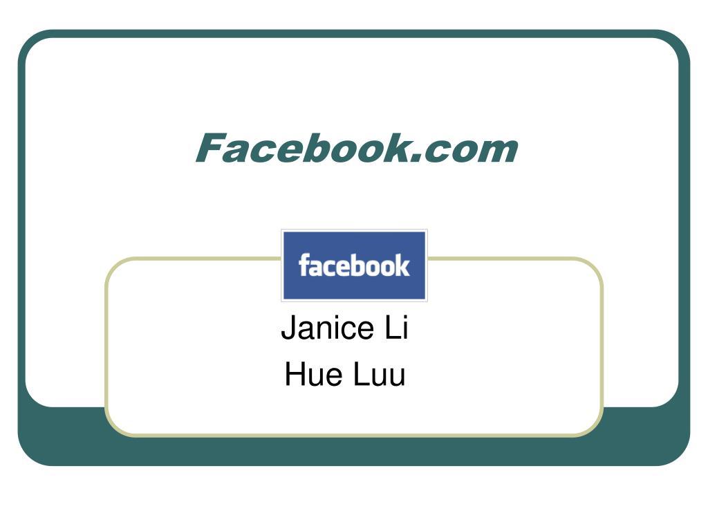 facebook com l.