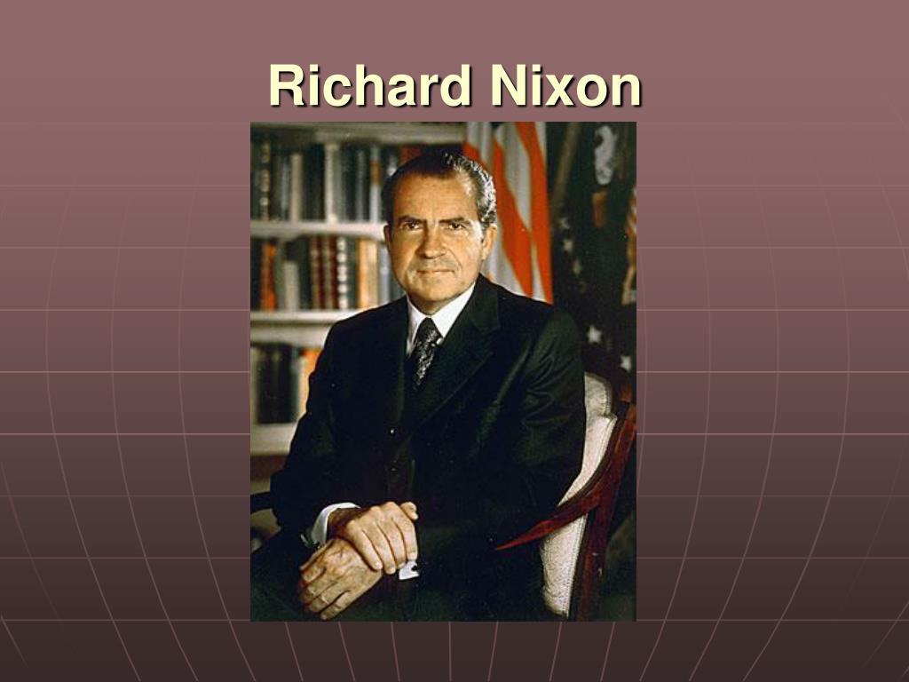 richard nixon l.