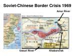 soviet chinese border crisis 1969