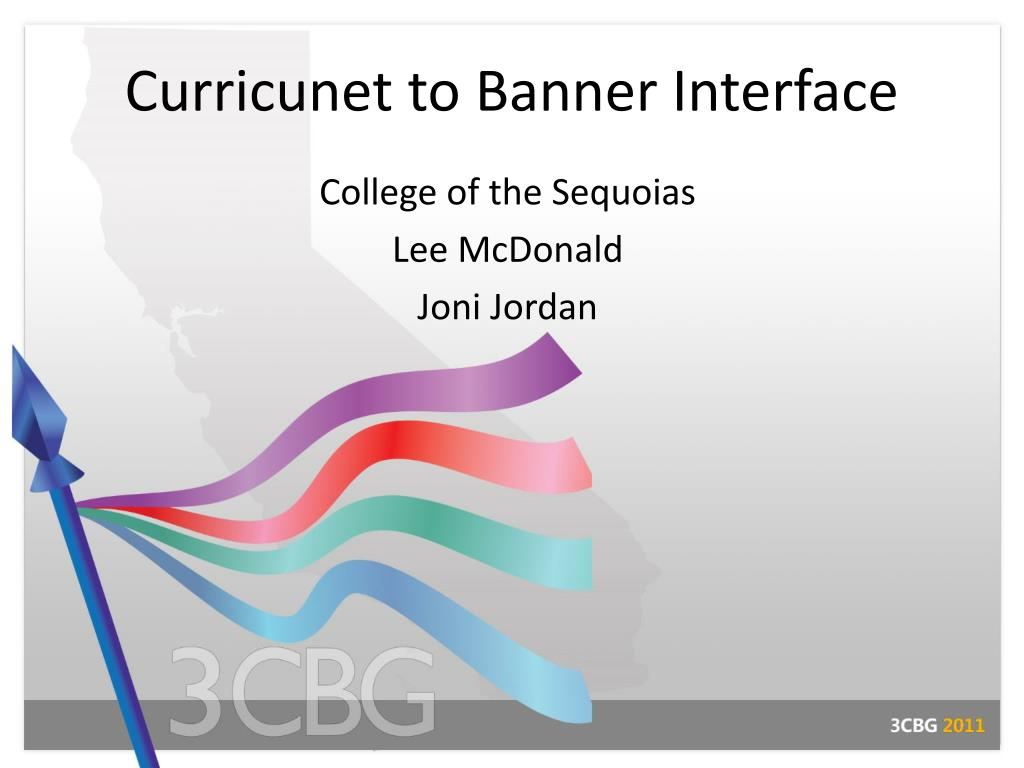 curricunet to banner interface l.