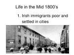 life in the mid 1800 s3