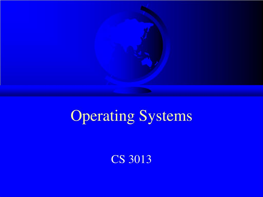 operating systems l.