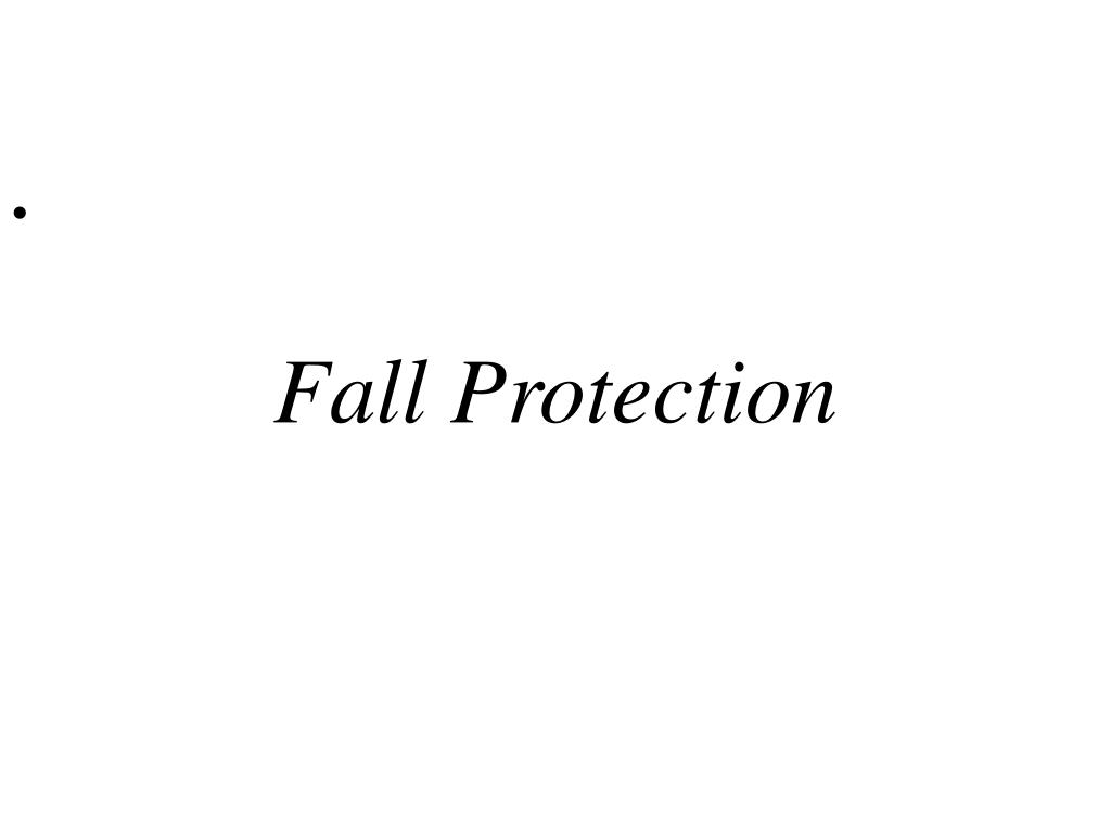 fall protection l.