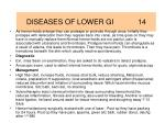 diseases of lower gi 14