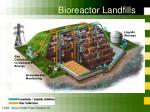 bioreactor landfills