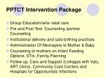 pptct intervention package