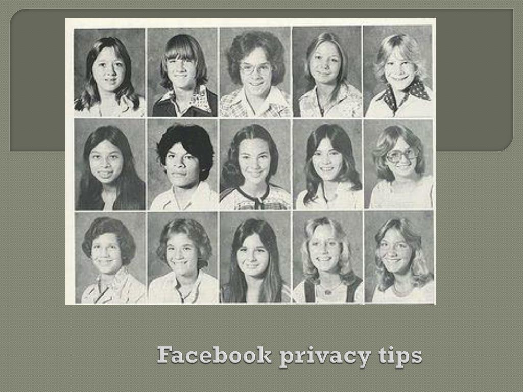 facebook privacy tips l.