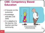 cbe competency based education1