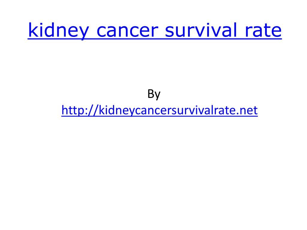 kidney cancer survival rate l.