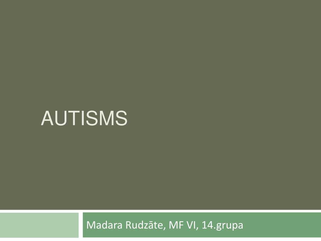 autisms l.