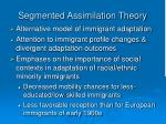 segmented assimilation theory