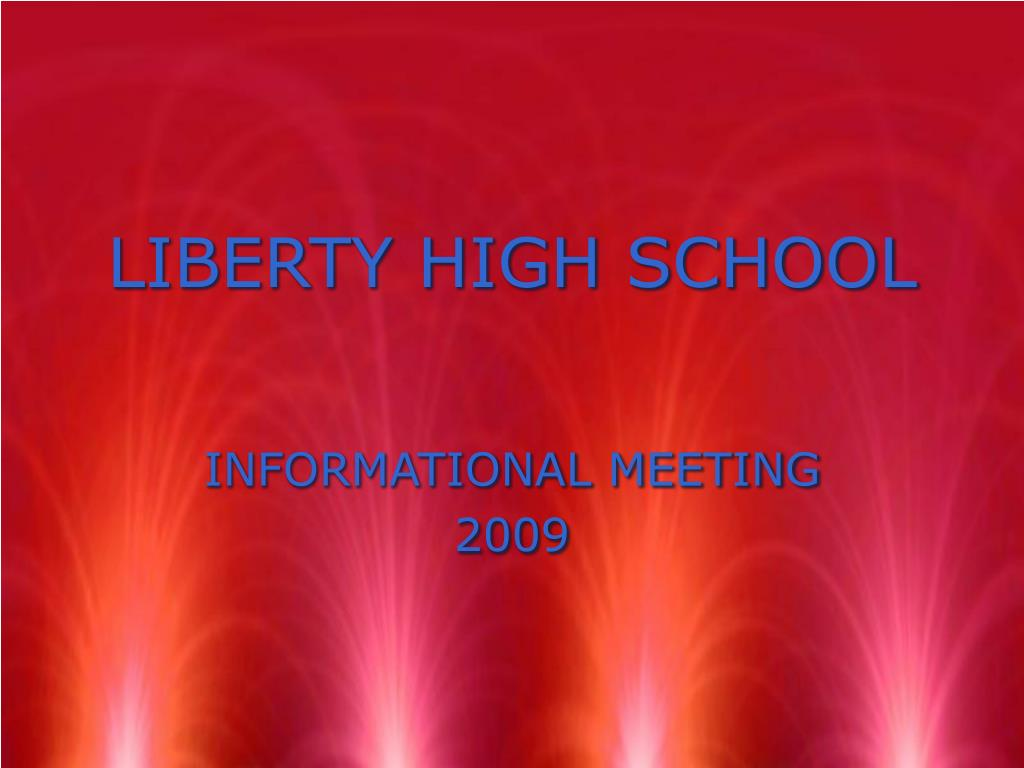liberty high school l.