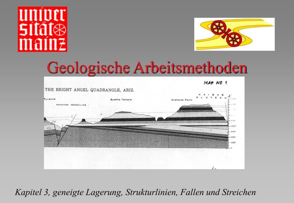 geologische arbeitsmethoden l.