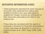 oxycontin information cont13