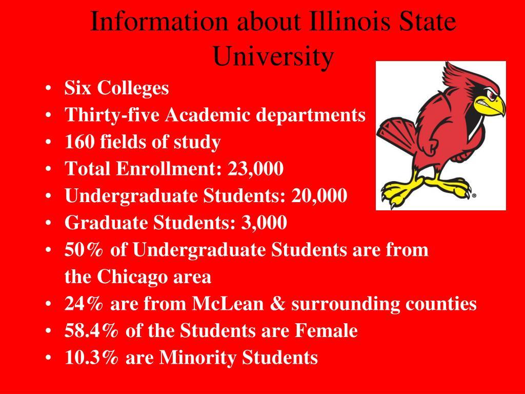Information about Illinois State University