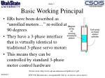 basic working principal