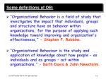 some definitions of ob