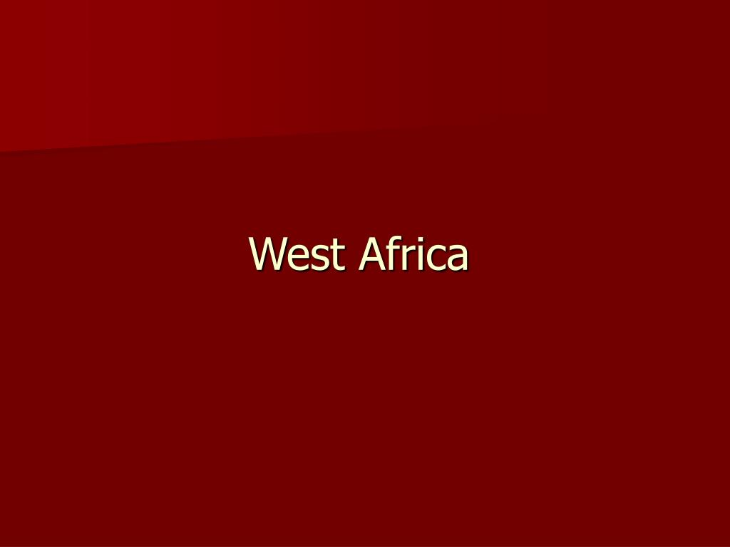 west africa l.