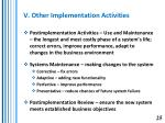v other implementation activities25