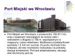 port miejski we wroc awiu
