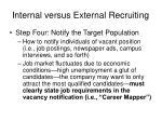 internal versus external recruiting27