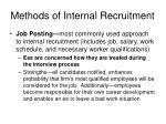 methods of internal recruitment30