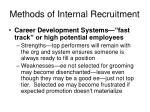 methods of internal recruitment32