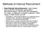methods of internal recruitment35