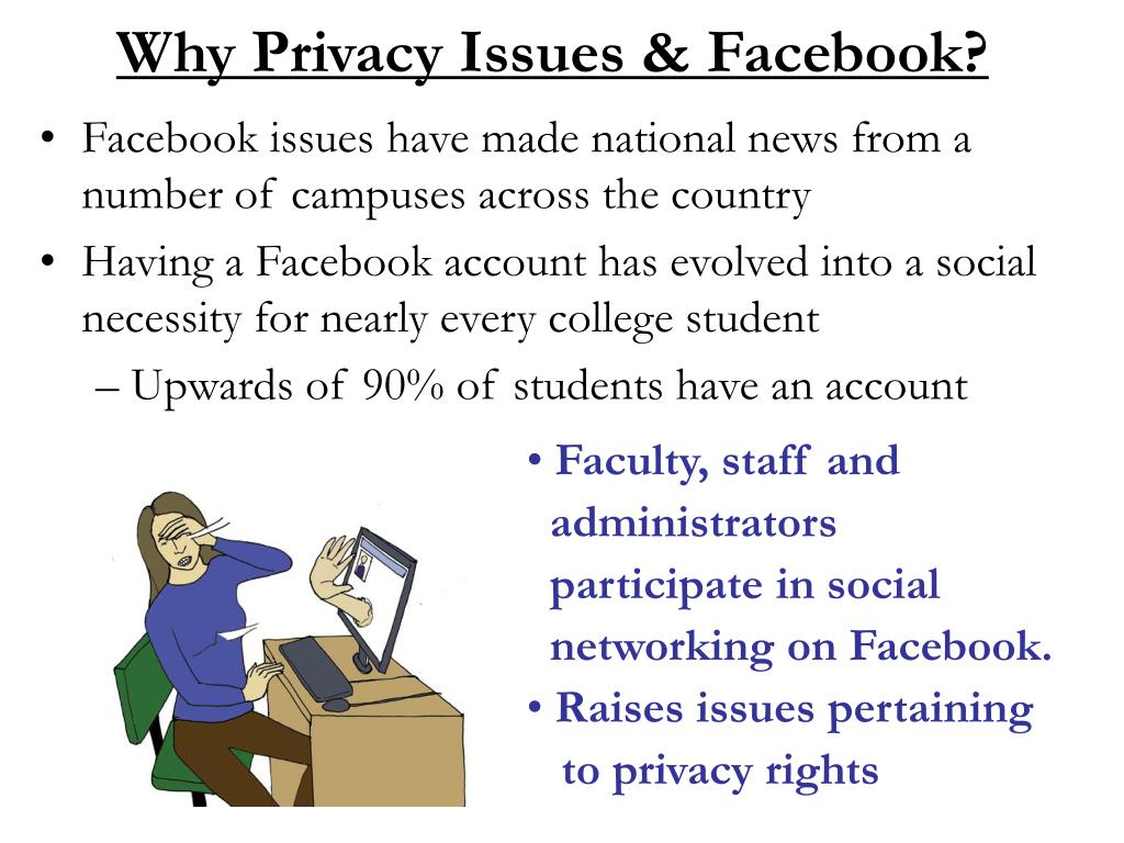 Why Privacy Issues & Facebook?