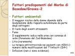 fattori predisponenti del morbo di basedow graves 2
