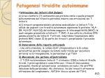 patogenesi tiroidite autoimmune