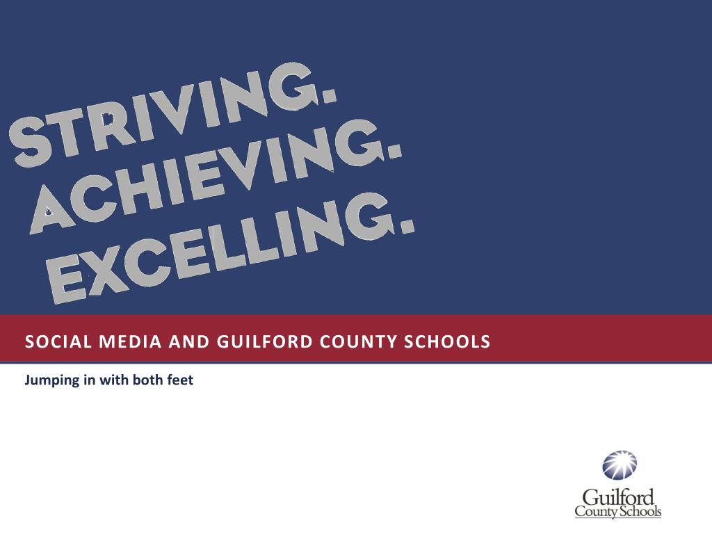 social media and guilford county schools l.