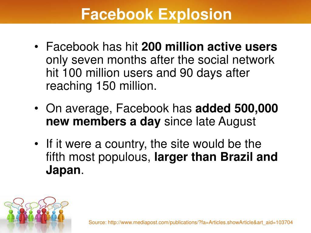 Facebook Explosion
