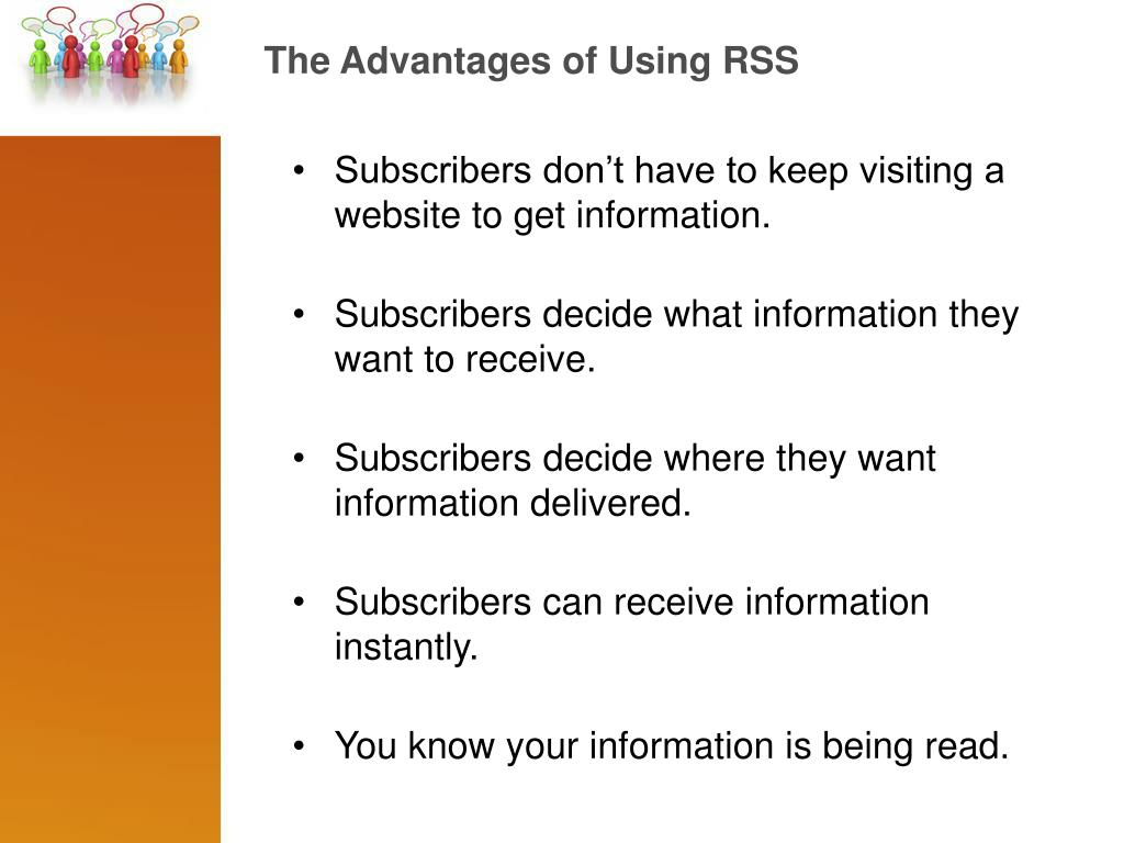 The Advantages of Using RSS