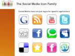 the social media icon family