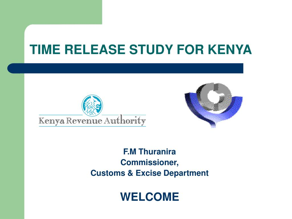 time release study for kenya l.