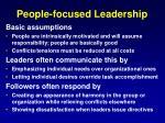 people focused leadership
