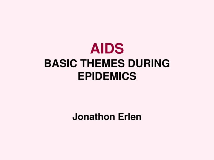 aids epidemic essay Free aids epidemic papers, essays, and research papers.