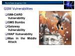 gsm vulnerabilities