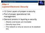 pillar 4 layered electronic security